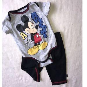 Disney Baby Mickey Mouse 2 piece pant Set